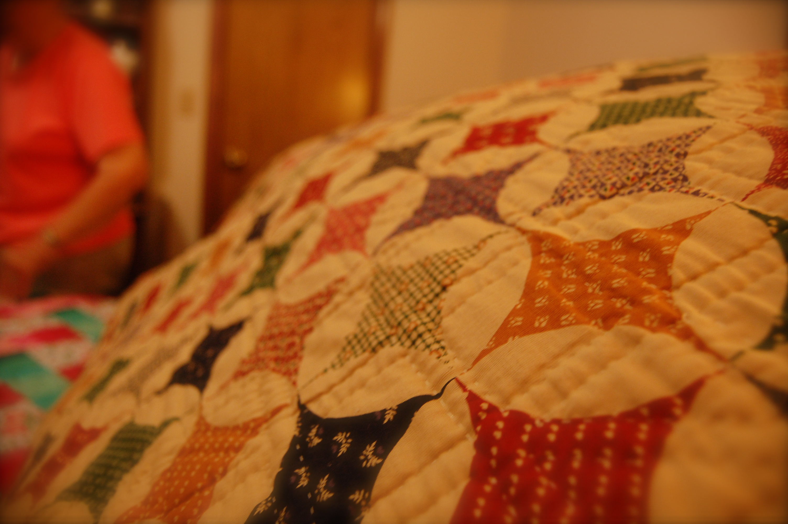 This is the back of the quilt!